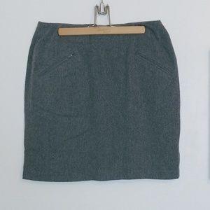 DKNY wool mini skirt